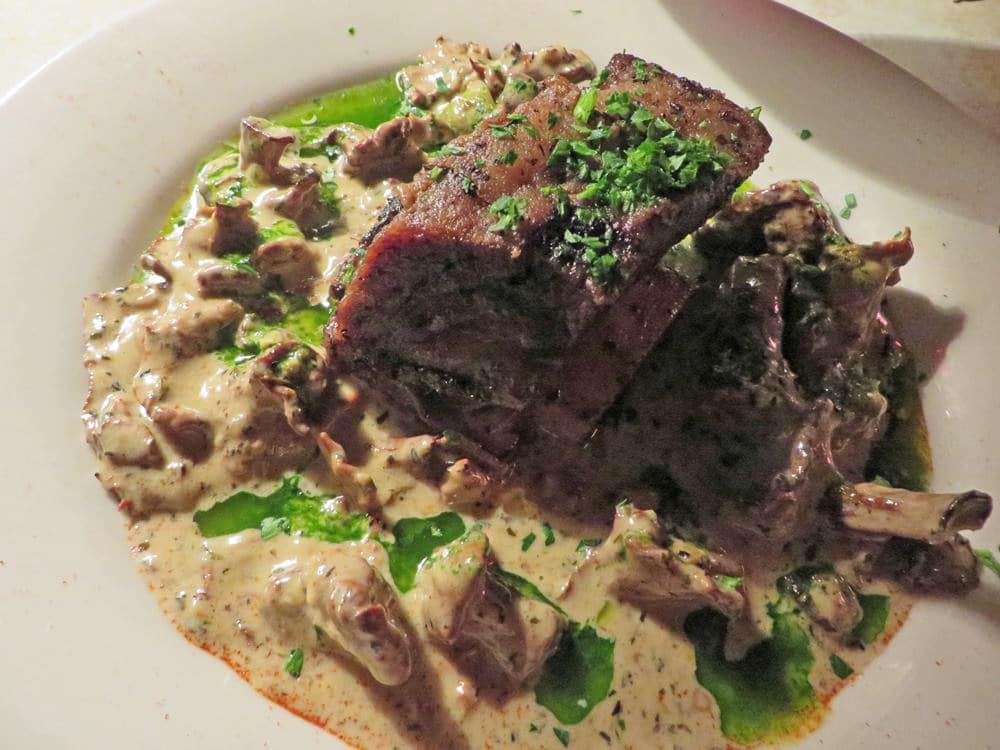 Wild Mushroom Dinner at The Depot Restaurant