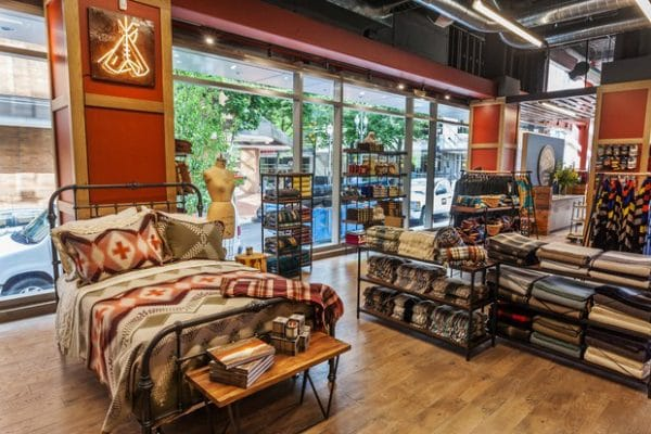 Pendleton Wool Portland Store