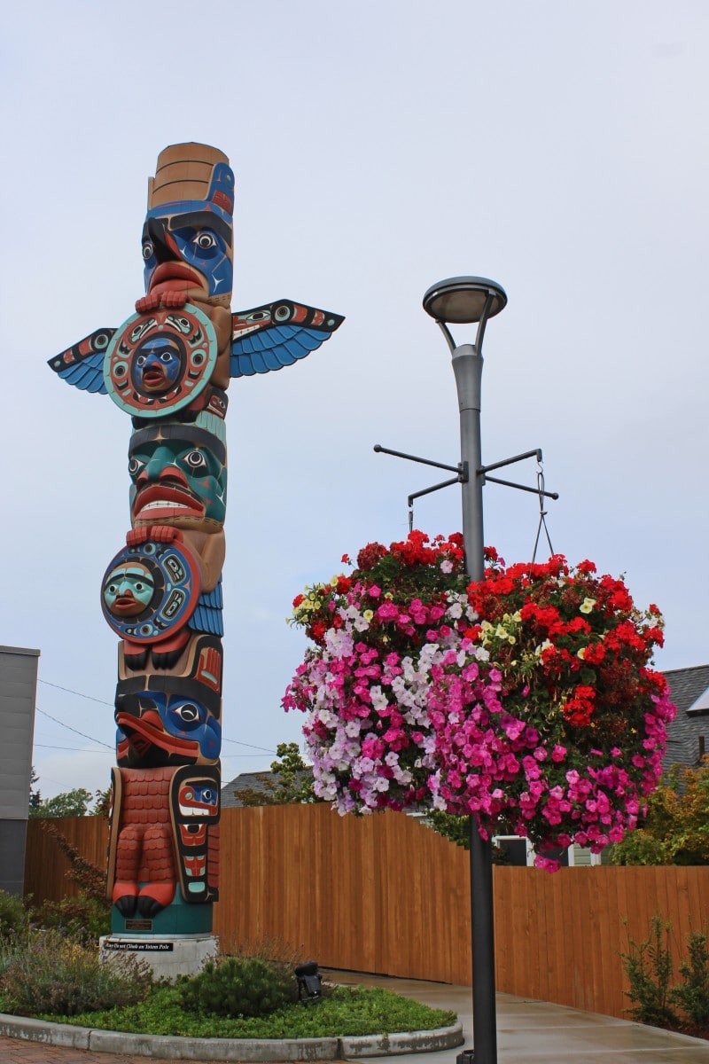 Sequim Washington Totem Pole