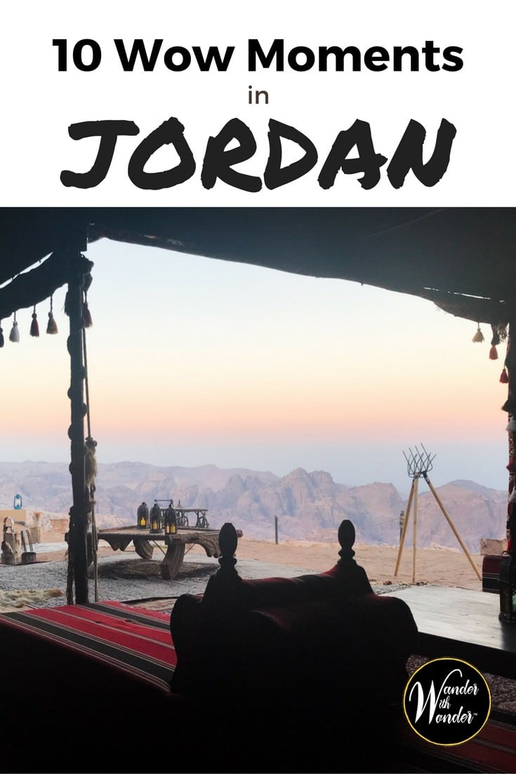For a small Middle Eastern country dominated by desert, Jordan has a lot to do. Bordered by Syria, Iraq, Saudi Arabia, Israel, and Palestine, visitors can expect Holy Land sites, archeological digs, and a lot of really old history. Here are some can't miss experiences in the Hashemite Kingdom of Jordan. #Jordan #MiddleEast #wowmoments #HolyLand