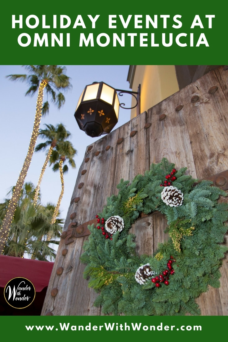 The holiday season is in full swing in Scottsdale, Arizona. Here are some of my favorite holiday events at Omni Montelucia. #attheomni #omni #omnimontelucia #holidayevents #holiday #christmas #christmasscottsdale #scottsdale #holidays #arizona #treelighting #christmastree #wander