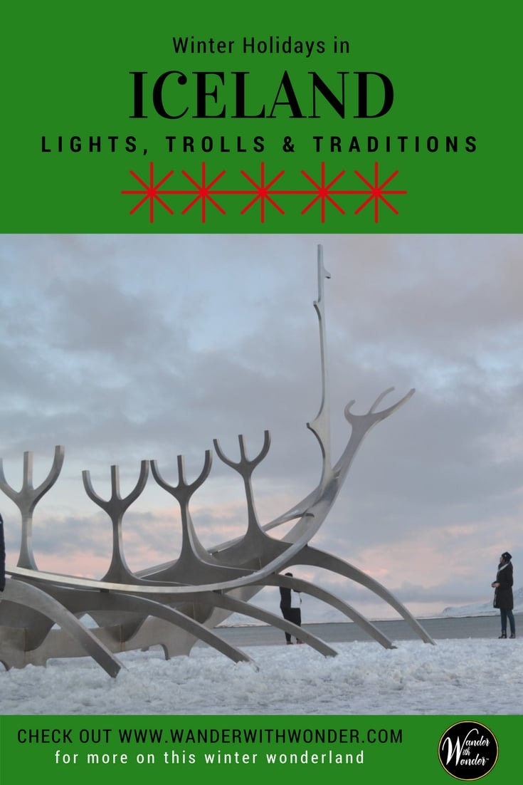 Winter holidays in Iceland include the elves, trolls, and fairies—whose antics are part of a month-long celebration making it a great holiday destination. #iceland #christmas #holidays #celebrations #travel #fairytales