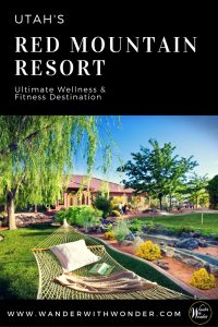 Utah's Red Mountain Resort is a destination spa resort known as one of the World's Best Destination Spas. Enjoy food, wine, the spa and daily activities. #adventureinspired #adventure #travel #adventuretravel #wellness #spa #wellnesstravel #utah #redmountainresort #resort #spatravel #wander #RedMtnResort