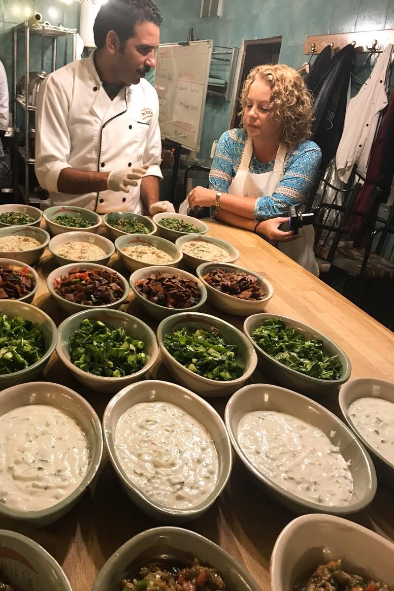 petra Kitchen cooking school Jordan culinary moments