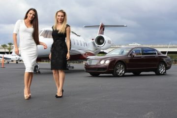 Private jet Art Basel Miami