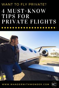 Demand for private jets for leisure and business travel is stronger than ever. Here are 4 tips you should know about flying private. #privatejets #privateflights #jets #airlines