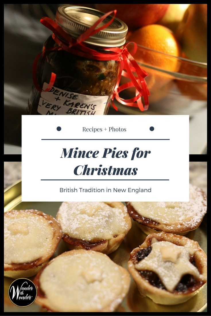 For this Brit transplanted in New England, it's not really #Christmas without weekly bakes of spicy fruit-filled individual mince pies. These butter-crusted sweets are a generational part of Karen Lewis's heritage. Let these culinary tarts — with Karen\'s #recipe —  become part of your tradition and bring mince pies to your home for Christmas Day. #mincepies #pie #pies #food #foodie #globalfoodie #British #mincemeat #wander