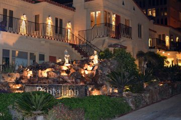 Pantai Inn at Night