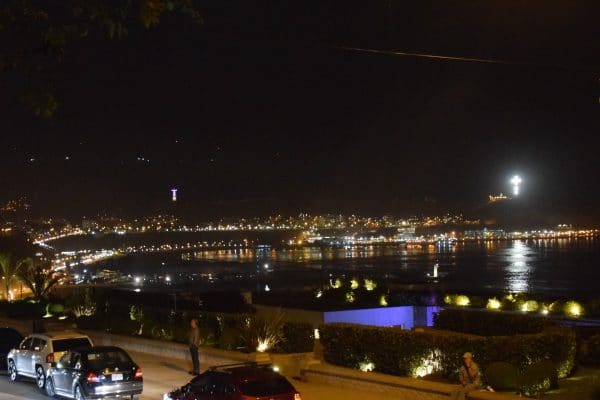 Barranco district at night