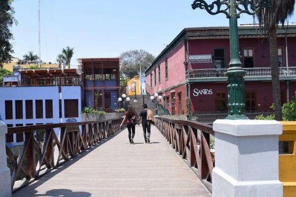 Barranco district Bridge of Sighs