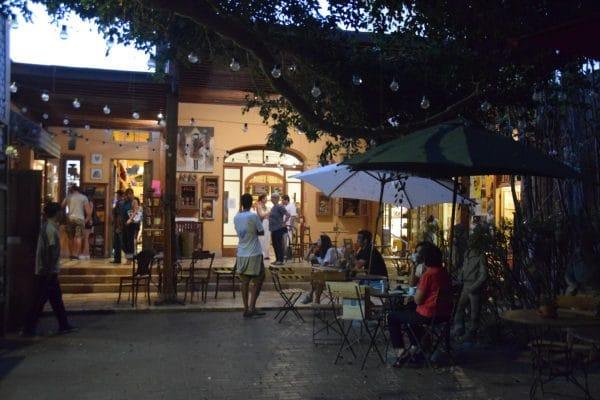 Barranco disctrict cafe culture