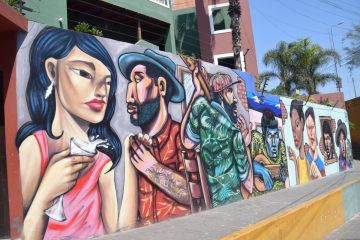 Barranco district street murals