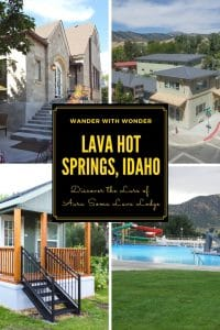 It's an unassuming town when you first drive down its main drag. But Lava Hot Springs, located in the southeast corner of #Idaho, fools you with its first impression. As does Aura Soma Lava Lodge. You find yourself thinking you could live there without really knowing why. Check out this #yearround #familytravel destination. #wellnesstravel #travel #wellness #hotsprings #family