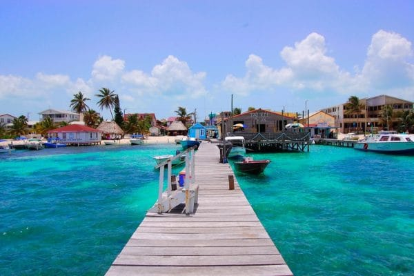 Make time for a visit to San Pedro on Ambergris Cay when you visit Belize