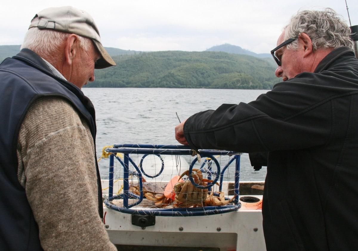 Haida Gwaii Crabbing