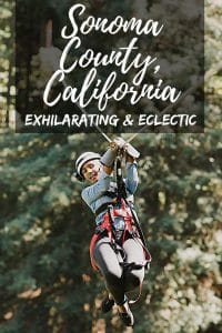 Find your Sonoma County passion whether it's taking a zipline over the redwoods canopy, riding the kayak on the Russian River, or enjoying the food and wine of wine country. Enjoy and exhilarating and eclectic experience in Sonoma County, California