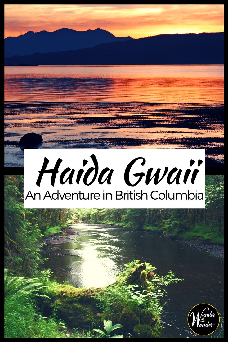 Take off to British Columbia for an adventure to the beautiful islands of Haida Gwaii just south of Alaska. Ride along on this memorable experience of what you can expect when you visit these wild islands to go wild salmon fishing. #adventure #travel #britishcolumbia #canada #fishing #outdoors #bucketlist