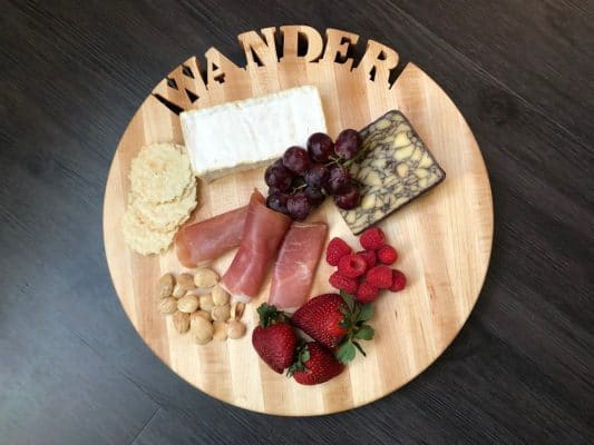My Wander Words With Boards is perfect for a wine party. Photo by Susan Lanier-Graham