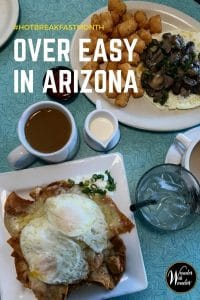 Hot Breakfast Month at Over Easy in Arizona