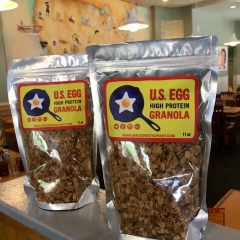 Visit US Egg for Hot Breakfast Month and take home fresh granola