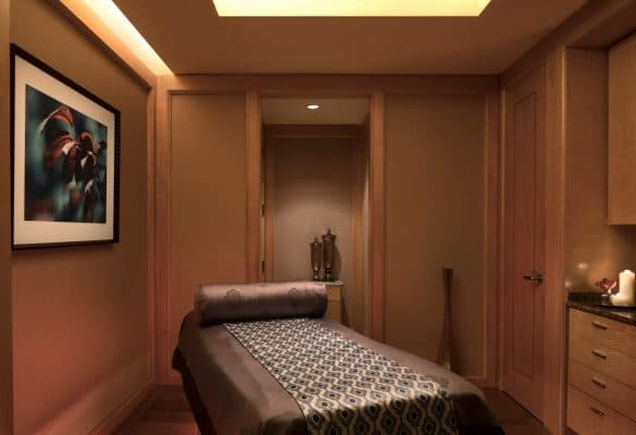 All of the spa treatment rooms are quiet and relaxing at Ritz-Carlton, Dallas spa. Photo by Donald Riddle Images courtesy The Ritz-Carlton