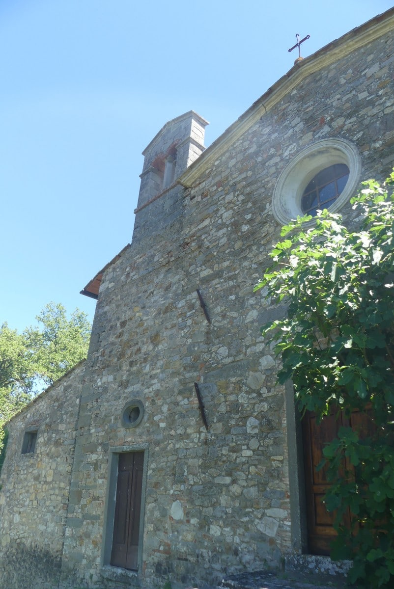 Chianti wine - Poggerino heritage buildings (12th century church) - Photo by Jacqui Gibson