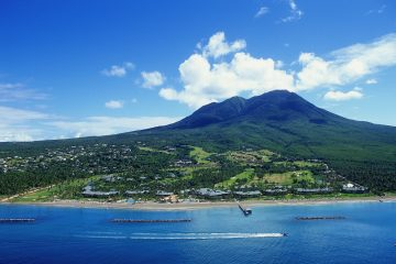 Mount Nevis aerial by Nevis Tourism Authority (1)