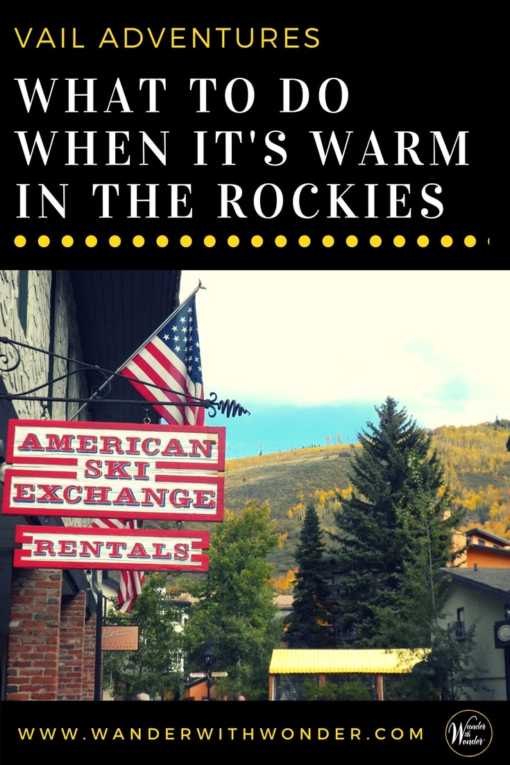 Colorado is having unusually warm weather during this year's winter season, with the occasional 60+ degree days. This isn't the best news for mountain-goers—or for the businesses that cater to them. Just what can you do when it's warm in the Rockies?