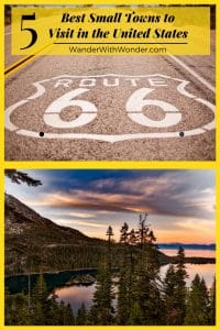 Lake Tahoe is one of the 5 best small towns to visit in the United States