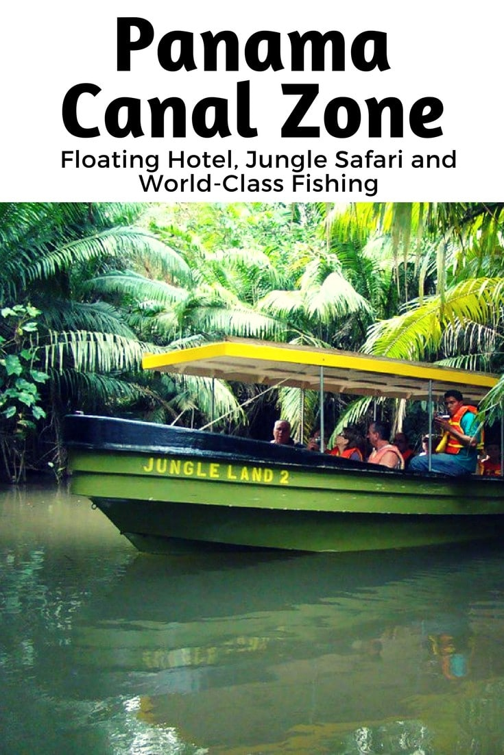 Embark on a jungle adventure! Cruise leisurely across Gatun Lake on a houseboat wandering through the jungle and fishing in the unique Panama Canal Zone. #adventure #travel #wanderwithwonder
