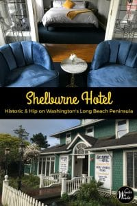 The beloved Shelburne Inn located on the Long Beach Peninsula of Washington has undergone a transformation. While the history has been lovingly preserved, the result—the new Shelburne Hotel—is bright, airy and hip. #PNW #PacificNorthwest #LongBeachPeninsula #Washington #WanderWithWonder #HistoricHotels #ShelburneHotel