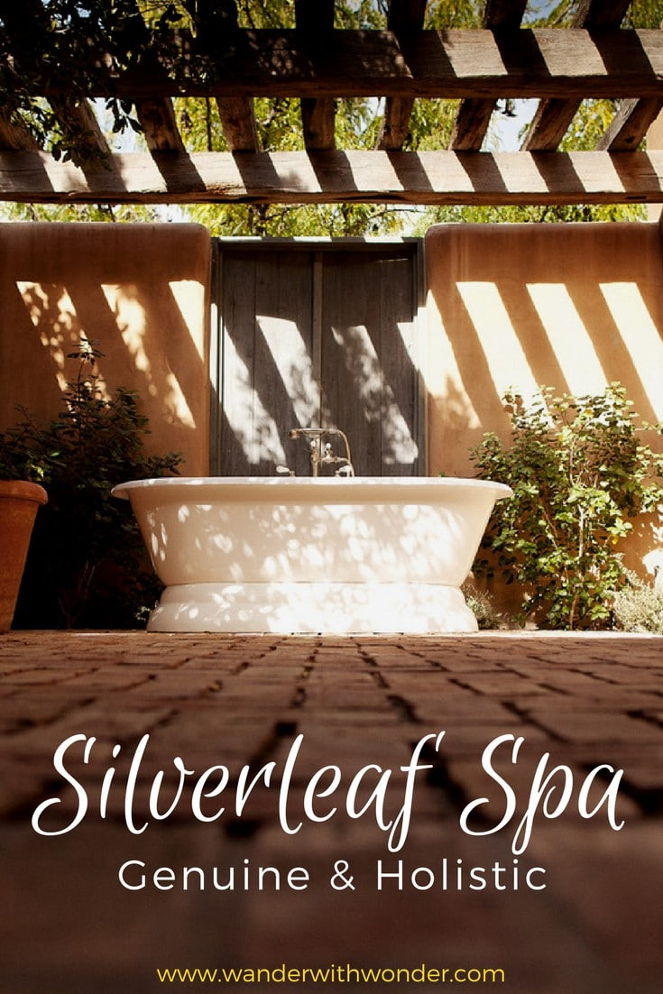 Escape stress with a unique experience at the Silverleaf Spa, a beautiful haven in the desert, to recover and find wellness in a genuine and holistic environment.  #spa #retreat #wanderArizona #luxury