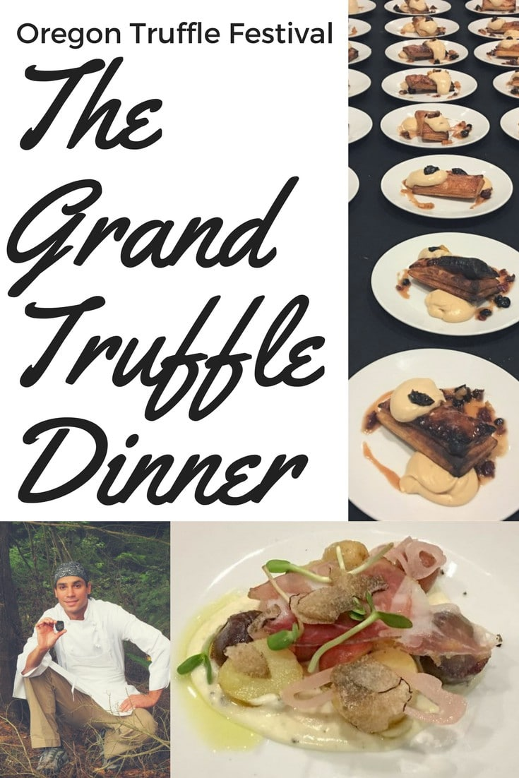 The annual Oregon Truffle Festival keeps getting better and this years culminated with 6 Oregon chefs collaborating on the extraordinary Grand Truffle Dinner.  #wanderoregon #truffledinner #oregon #wanderwithwonder