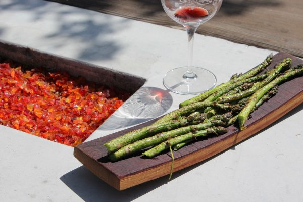 Asparagus at J Bell Wine