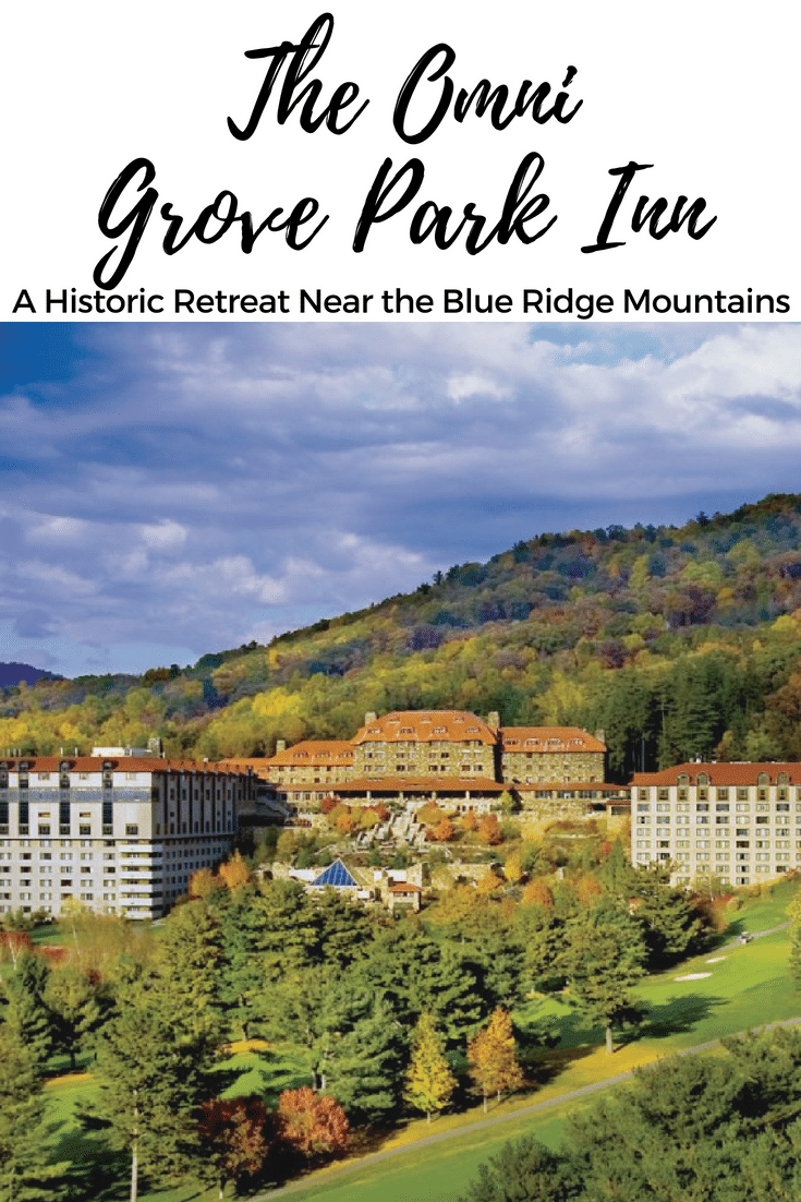 Gorgeous doesn't begin to describe The Omni Grove Park Inn in Asheville, NC, near the Blue Ridge Mountains, where the stress of the world just falls away. #Travel #WanderwithWonder #Asheville #history #historicinn #luxurytravel #luxury