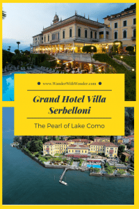 Grand Hotel Villa Serbelloni is one of the few remaining Grand Hotels in the world and the only five-star hotel in Bellagio, Lake Como. It is so comfortable some guests stay for the entire season. #luxury #travel #luxuryhotels #lakecomo #Italy