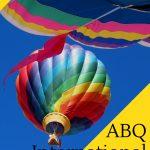 Imagine flying amidst more than 600 colorful hot air balloons! Each October, the Albuquerque International Balloon Fiesta creates an enchanted world. #balloons #hotairballoons #albuquerque #balloons #newmexico