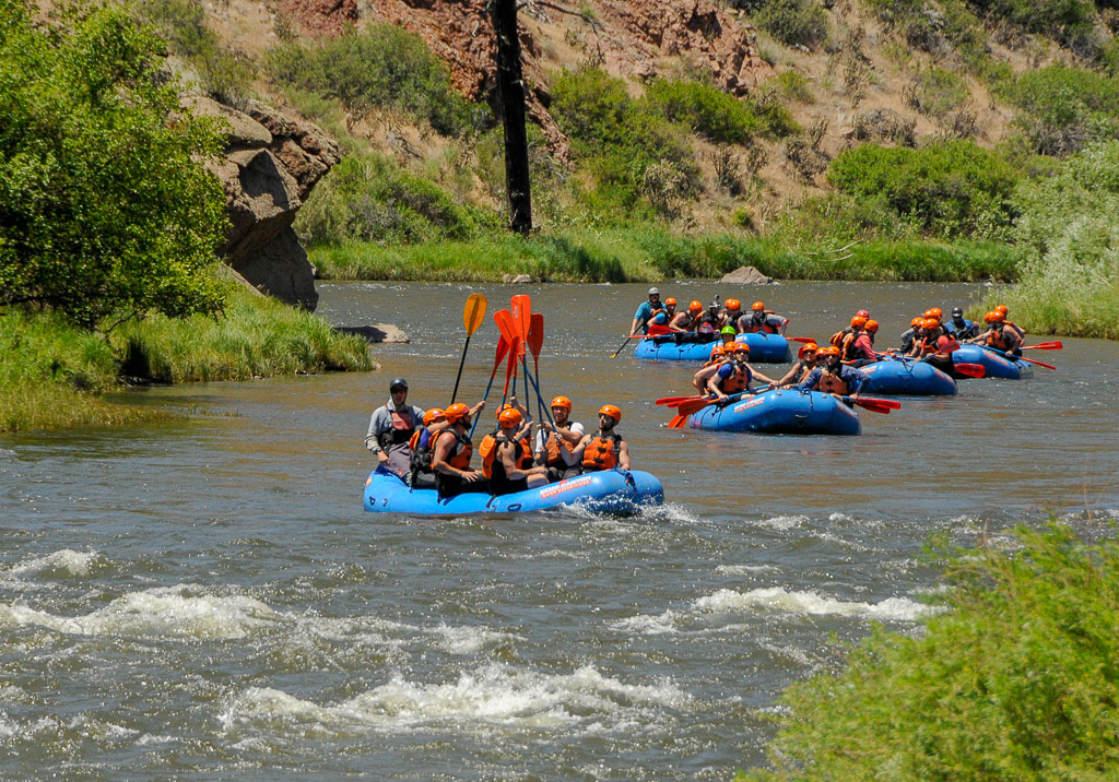Royal Gorge Colorado - river rafting