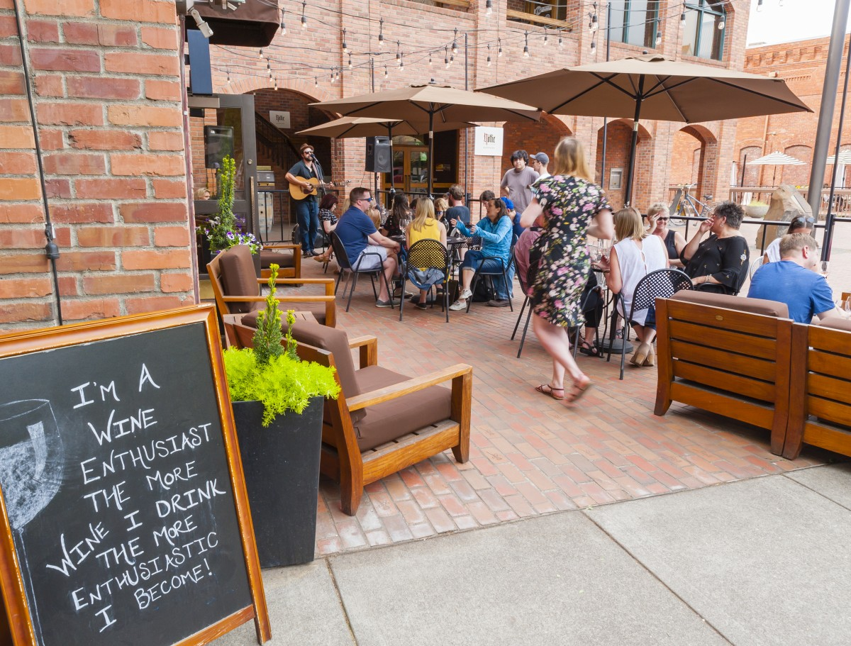 Downtown Walla Walla is a beautiful little town filled with shops, wineries, and restaurants. Photo courtesy Walla Walla Valley Wine Alliance