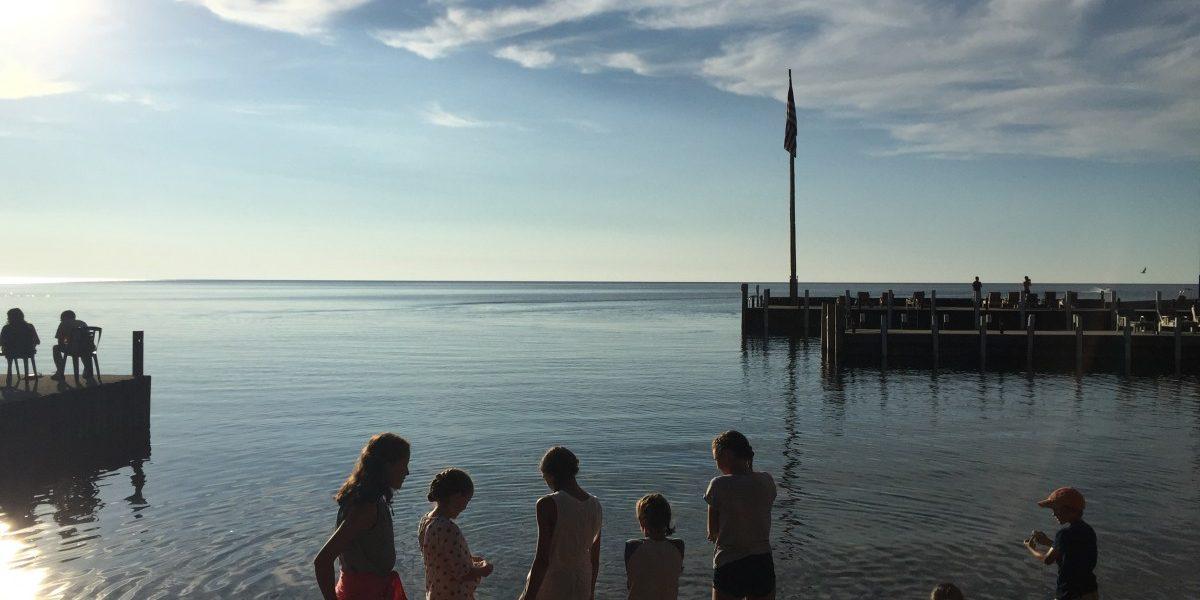 Door County lake michigan