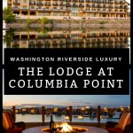 Nestled along the Columbia River, The Lodge at Columbia Point showcases a scenic setting with marina views and an endless blue sky. This new 82-room luxury hotel is steps away from the Riverfront Trail and Columbia Point Marina Park and a short drive to nearby nature preserves. Find luxury in the heart of Washington wine country. #luxuryhotel #hotel #Washington #winetasting