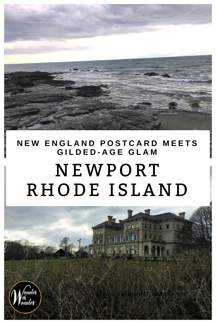 What do you get when you combine a New England postcard and Gilded Age glam? Newport, Rhode Island is a coastal town less than two hours from Boston. #NewEngland #Newport #RhodeIsland #coastalliving #BeachTowns #weekend