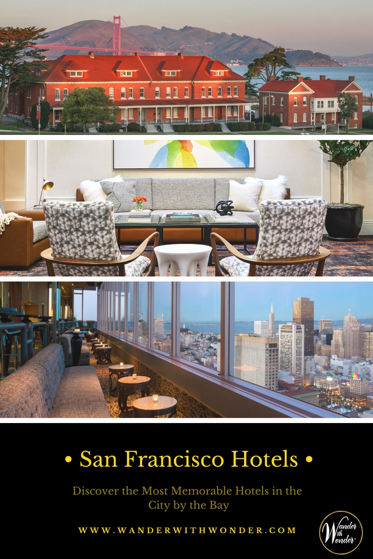 There is plenty of temptation for San Francisco hotels. The most memorable are a hotel in the forest, a remodeled historic hotel, and a hotel in the clouds. Visit Presidio Lodge, Galleria Park Hotel, and Parc 55 Hotel. Enjoy drinks on top of the world at Cityscape Lounge. Then, when you're ready to leave San Francisco, you can take a California Road Trip. #sponsored