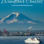 Windstar Cruises made history in Seattle with the Star Legend. It became the largest-known cruise ship to transit the Chittenden Locks and on to Lake Union. Book one of the #WindstarCruise Signature Expeditions in Alaska! #Cruiseship #AlaskaCruise #smallship #cruising #Alaska #seattle