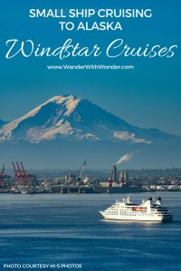 Windstar Cruises made history in Seattle with the Star Legend. It became the largest-known cruise ship to transit theChittenden Locks and on to Lake Union. Book one of the #WindstarCruise Signature Expeditions in Alaska! #Cruiseship #AlaskaCruise #smallship #cruising #Alaska #seattle