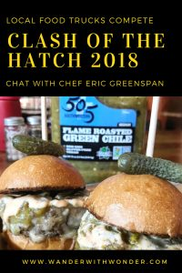 It's time for Clash of the Hatch food truck competition, curated by Chef Eric Greenspan and 505 Southwestern®. Finale scheduled for Santa Fe, NM in October. #hatchchiles #foodtrucks #Dallas #Phoenix #Chefs