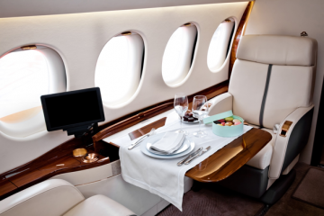 Travel Via Private Jet