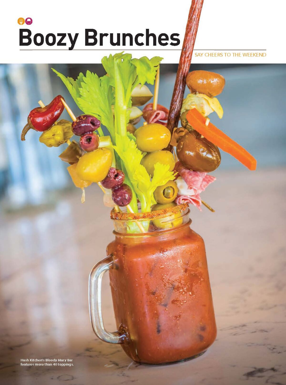 "This article originally appeared in the 2018-2019 of  WHERE Epicure Phoenix + Scottsdale. Say ""cheers"" to the weekend at one of these boozy brunch options."
