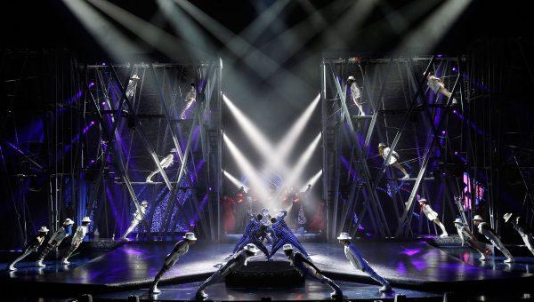 Michael Jackson ONE Las Vegas. Photo courtesy Cirque du Soleil