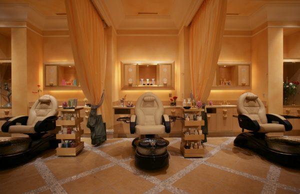 Pedicure Area at the Salon at Bellagio. Photo courtesy MGM Resorts